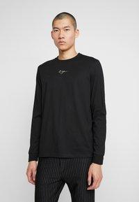 Zign - Long sleeved top - black - 0