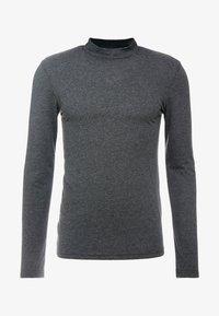 Zign - Langærmede T-shirts - mottled dark grey - 4
