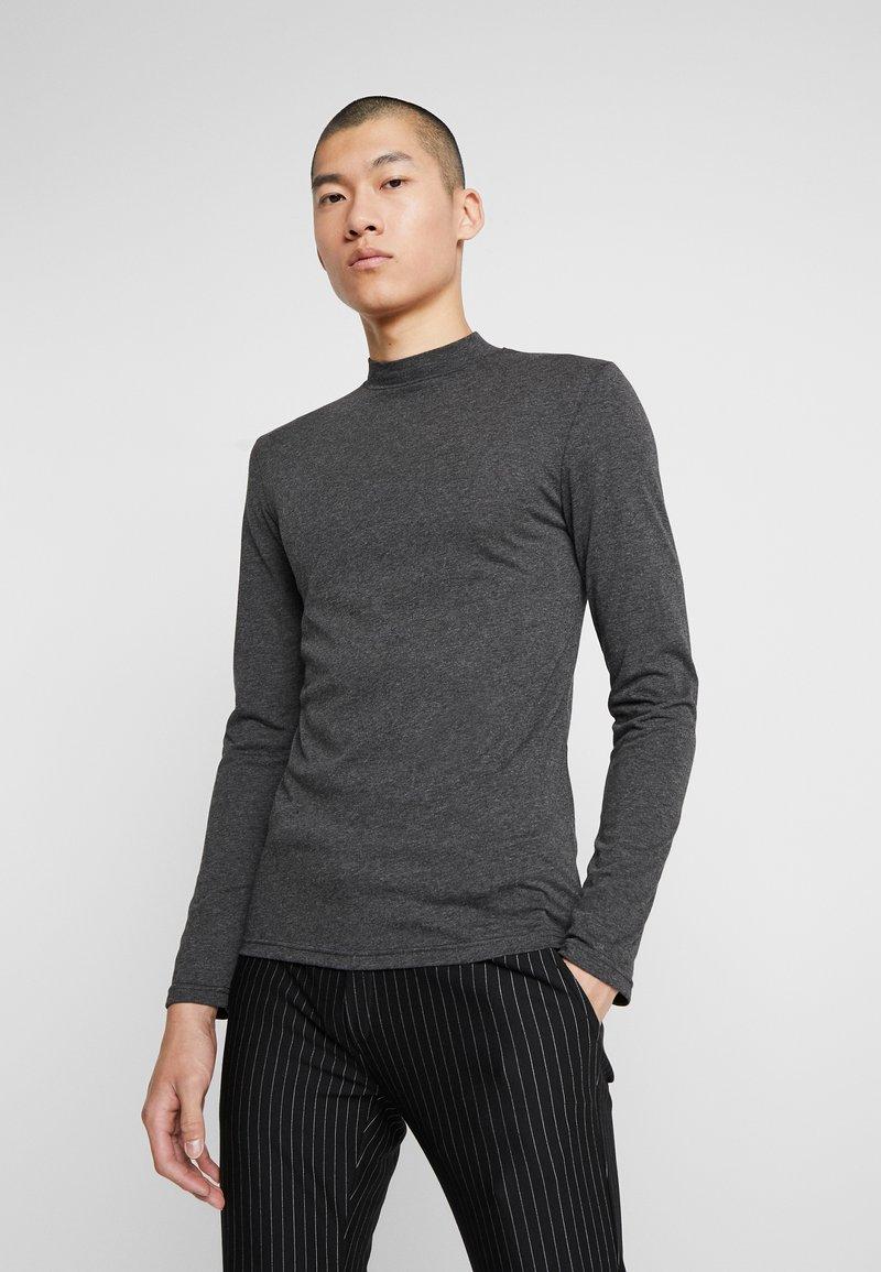 Zign - Langærmede T-shirts - mottled dark grey