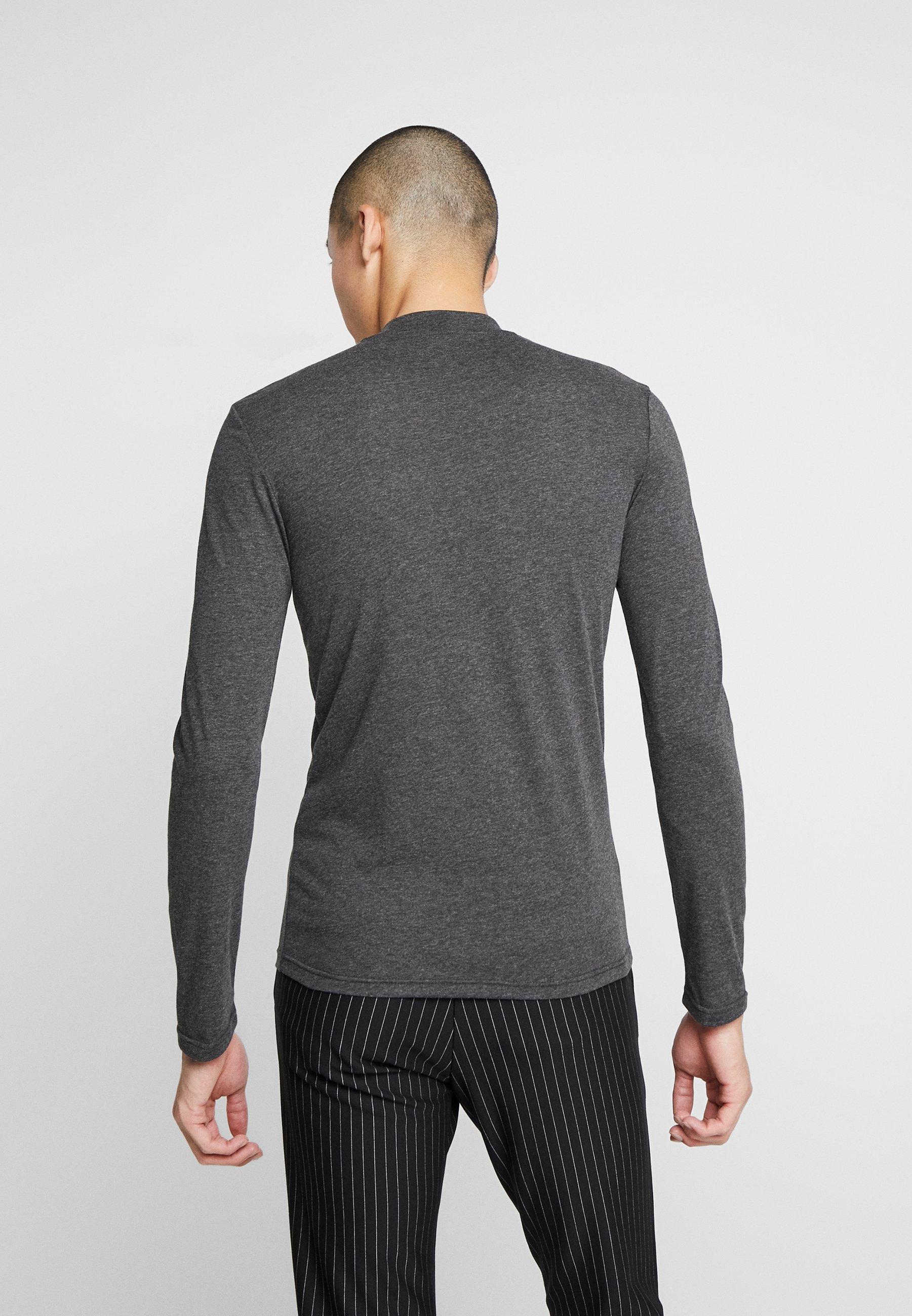 Zign Bluzka z długim rękawem - mottled dark grey