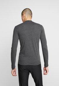 Zign - Langærmede T-shirts - mottled dark grey - 2