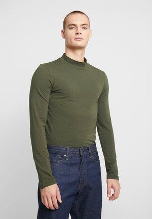 Bluzka z długim rękawem - dark green