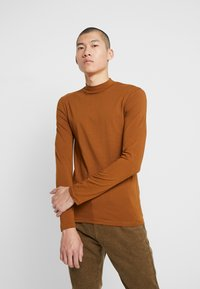 Zign - Long sleeved top - brown - 0