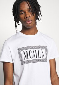 Zign - Print T-shirt - white - 3