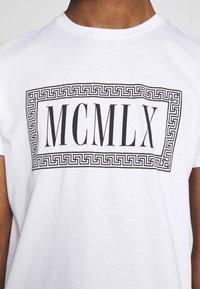 Zign - Print T-shirt - white - 5