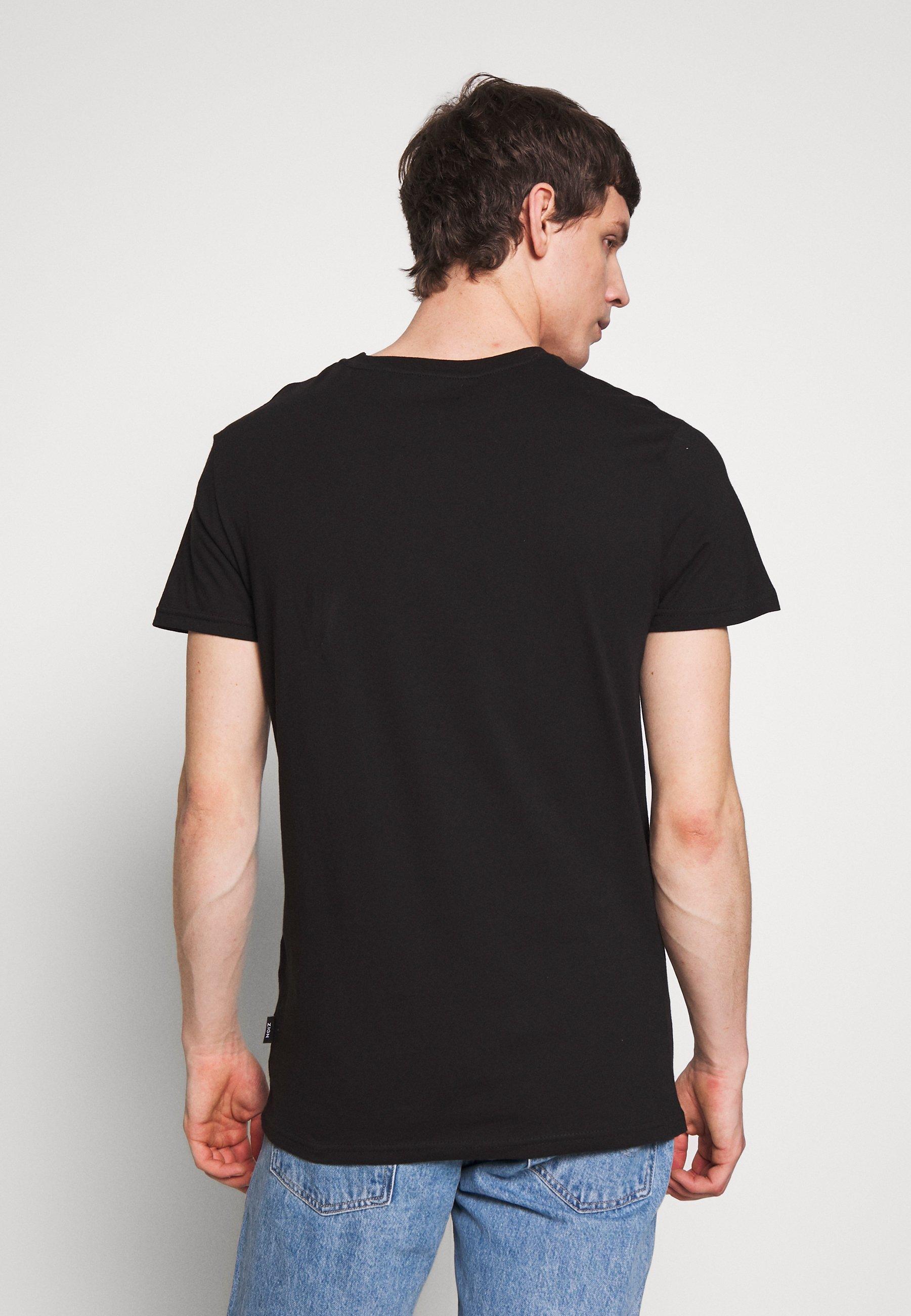 Zign Print T-shirt - Black
