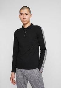 Zign - Polo shirt - black - 0
