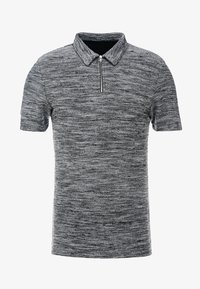 Zign - Polo shirt - mottled grey - 4