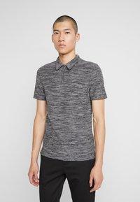 Zign - Polo shirt - mottled grey - 0