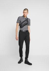 Zign - Polo shirt - mottled grey - 1