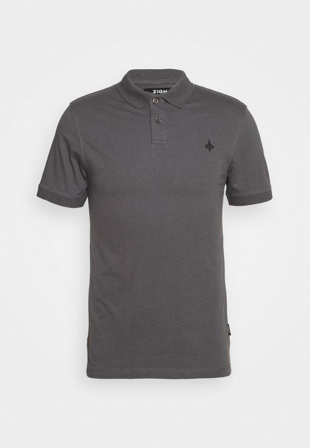 Poloshirt - dark gray