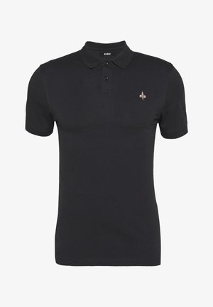 MUSCLE FIT POlO - Poloshirt - black