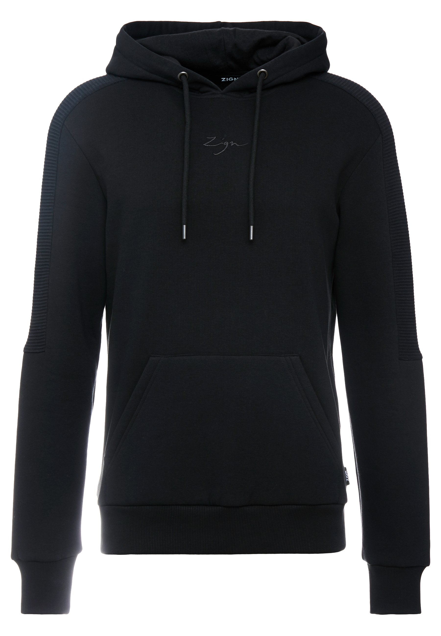 Zign Bluza z kapturem - black