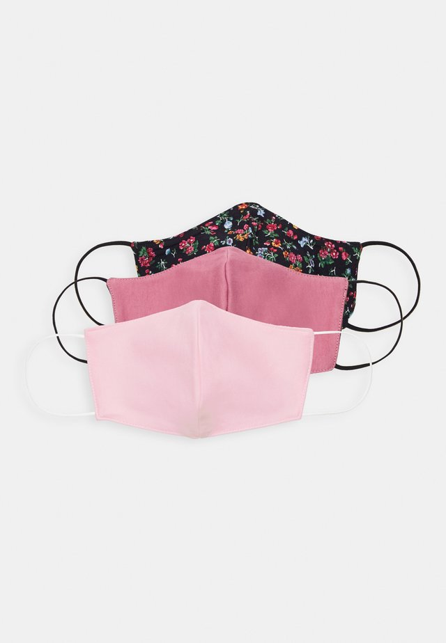 3 PACK - Stoffmaske - rose