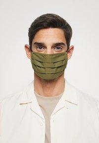 Zign - 3 PACK - Community mask - khaki/taupe/camel - 3
