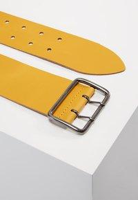 Zign - LEATHER - Waist belt - yellow - 2