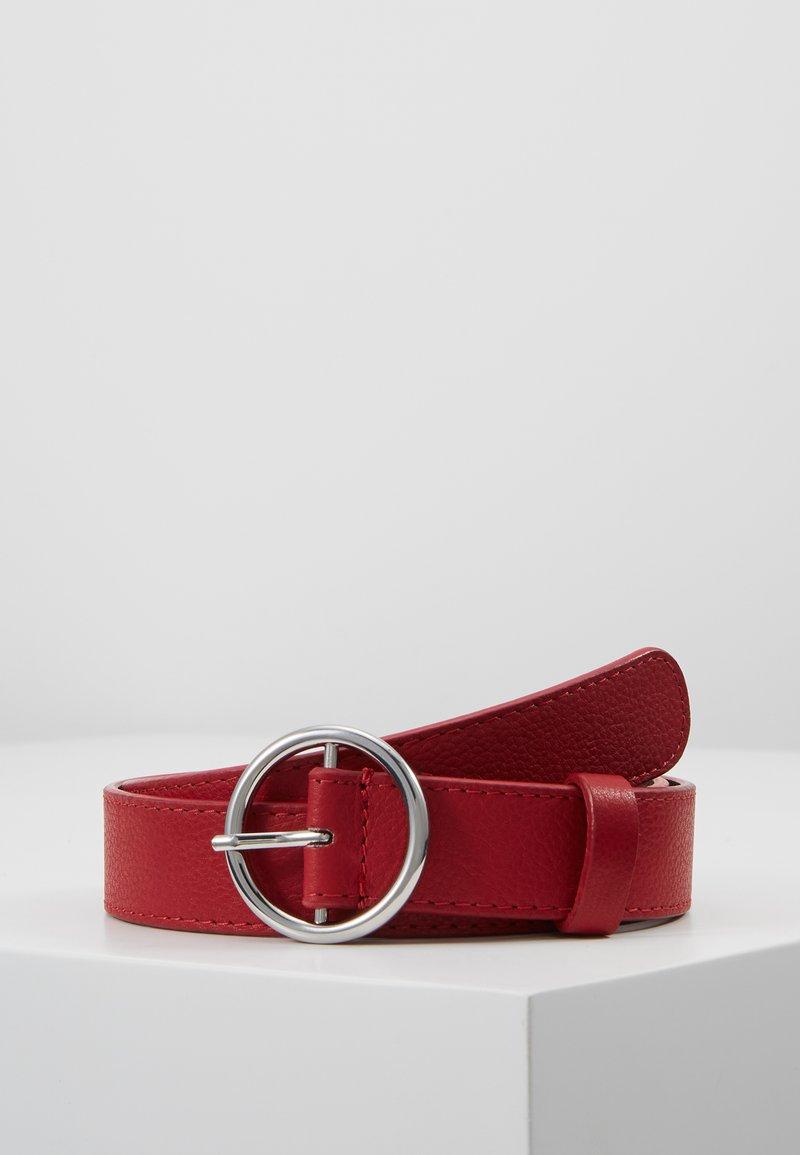 Zign - LEATHER - Belt - berry