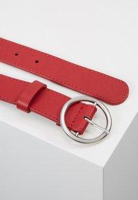 Zign - LEATHER - Belt - berry - 2