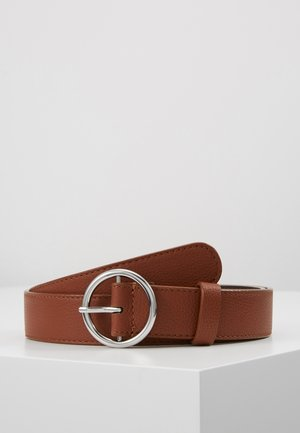 LEATHER - Gürtel - cognac