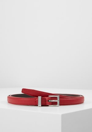 LEATHER - Ceinture - red