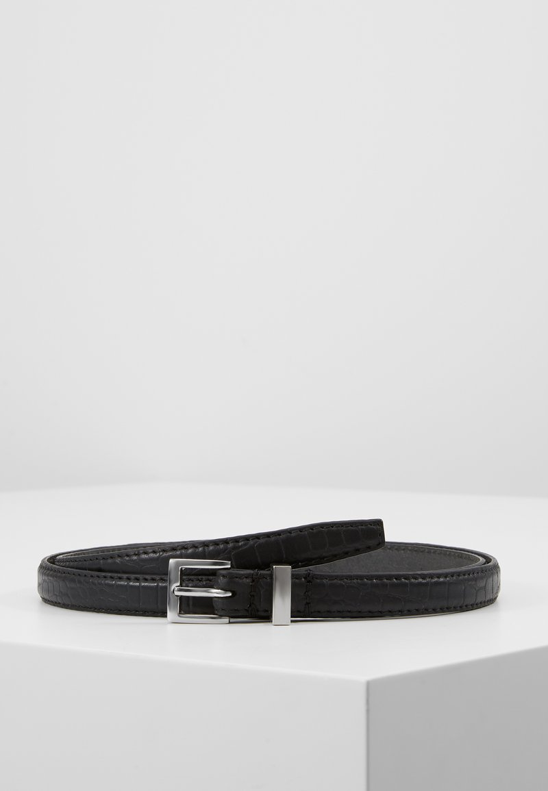 Zign - LEATHER - Cinturón - black