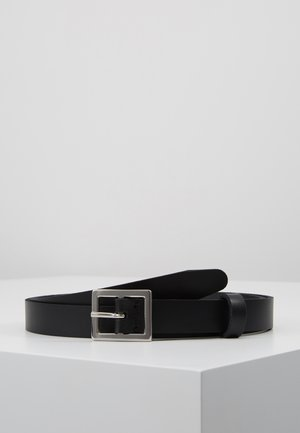 LEATHER - Riem - black