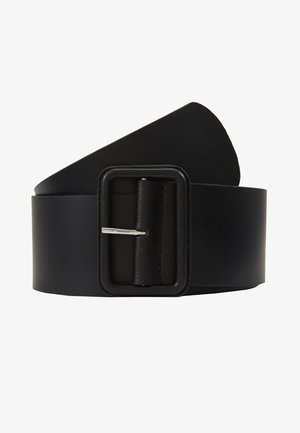 LEATHER - Pasek - black