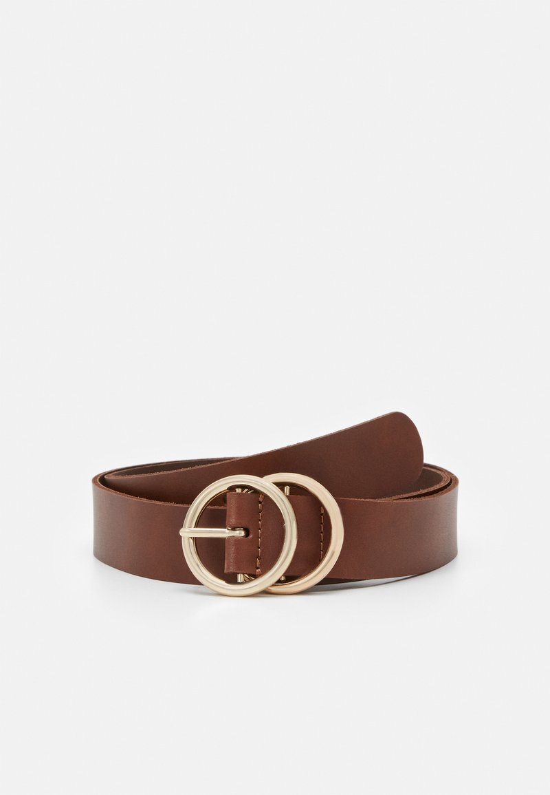 Zign - LEATHER - Belt - cognac