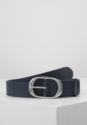LEATHER - Pásek -  navy