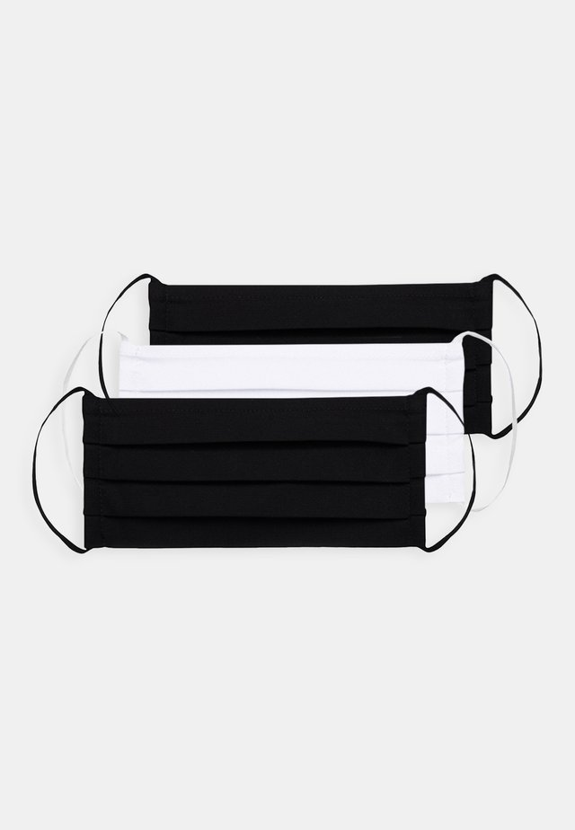 3 PACK - Stoffmaske - black/white