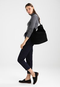 Zign - LEATHER - Tote bag - black - 1