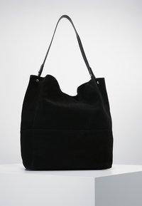 Zign - LEATHER - Tote bag - black - 0