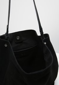 Zign - LEATHER - Tote bag - black - 4