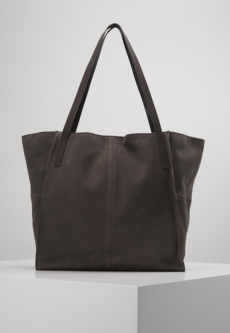 Zign - LEATHER - Shopping bags - anthracite