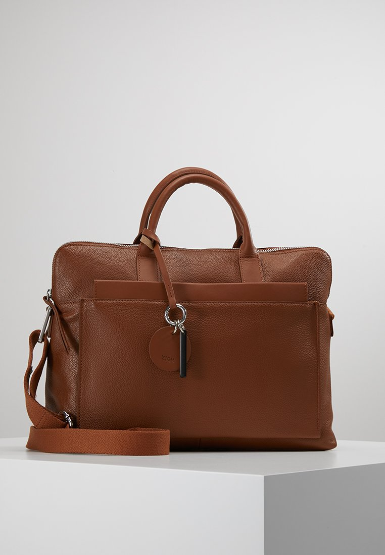 Zign - Laptop bag - cognac