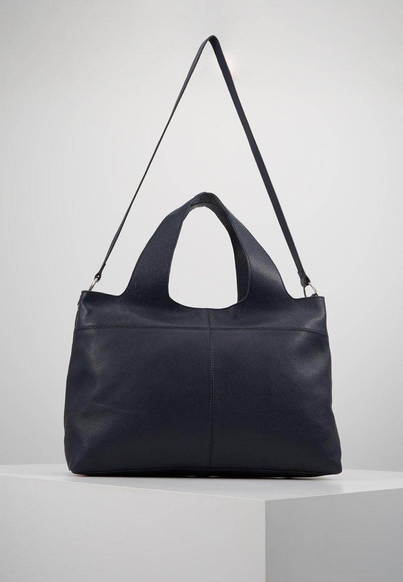 Zign - LEATHER - Håndtasker - blue/dark ocean