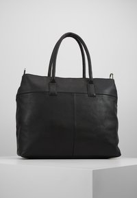 Zign - LEATHER - Weekend bag - black - 2