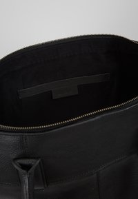 Zign - LEATHER - Weekend bag - black - 4