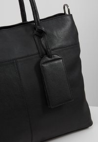 Zign - LEATHER - Weekend bag - black - 6