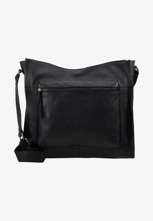 LEATHER - Shoppingveske - black