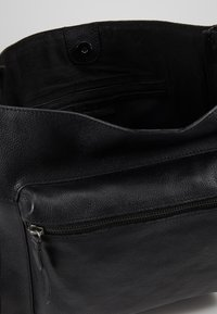 Zign - LEATHER - Bolso shopping - black - 4