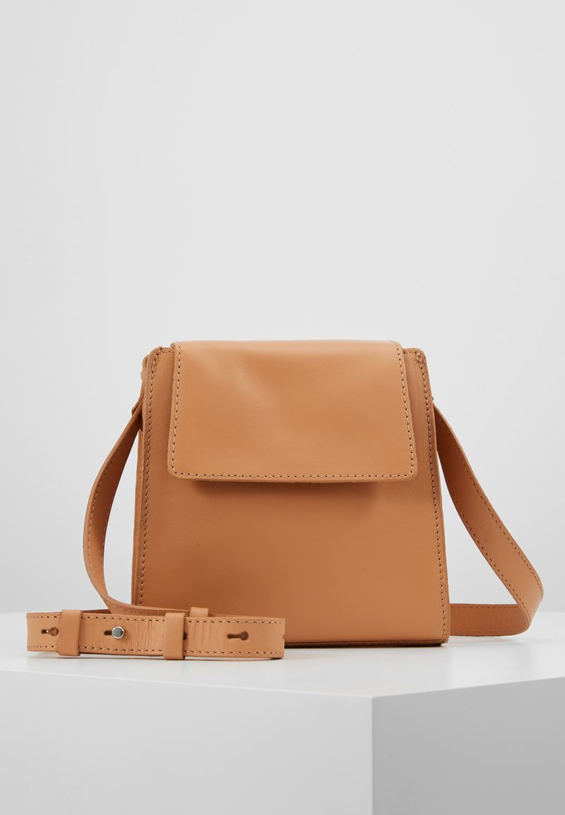 Zign - LEATHER - Across body bag - natural