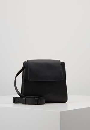 LEATHER - Torba na ramię - black