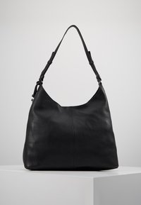 Zign - LEATHER - Kabelka - black - 2