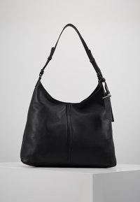 Zign - LEATHER - Kabelka - black - 0