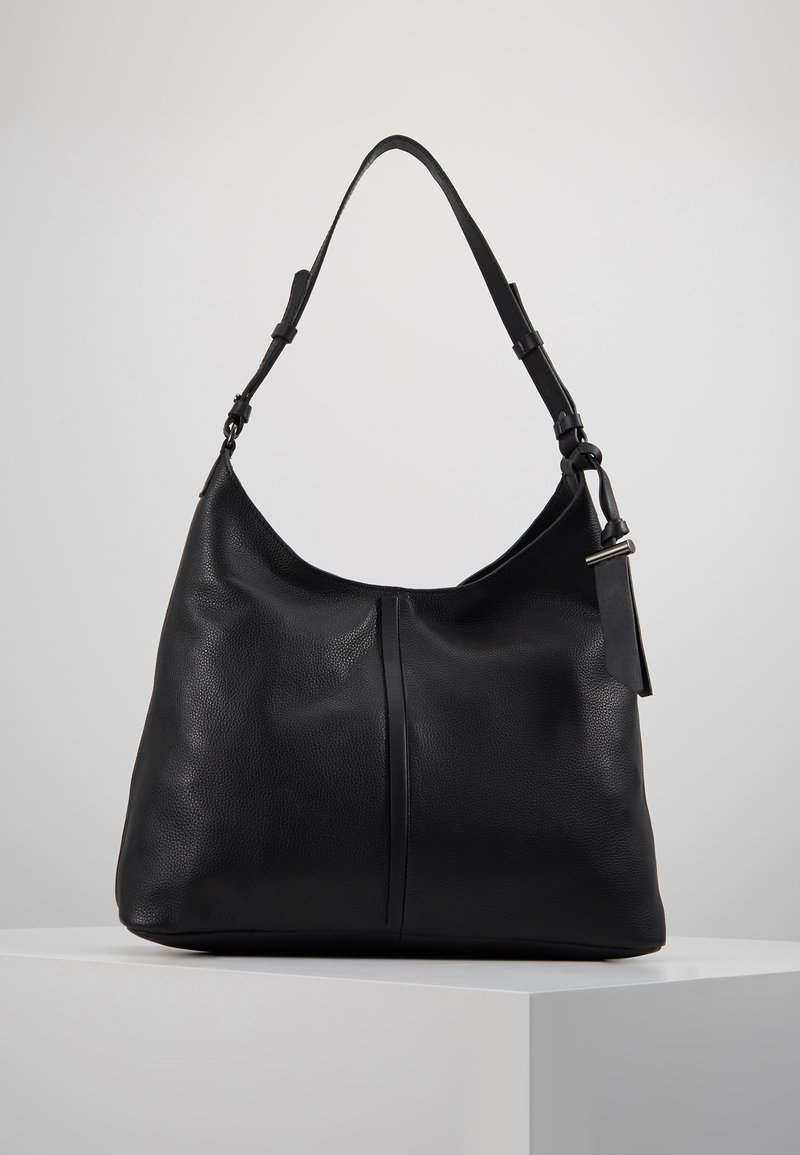Zign - LEATHER - Kabelka - black