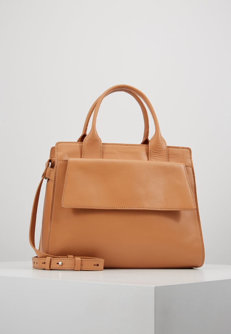 Zign - LEATHER - Bolso de mano - natural