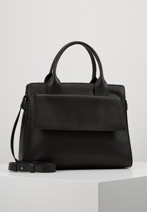 LEATHER - Handtas - black