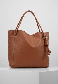 Zign - LEATHER - Handbag - cognac - 0