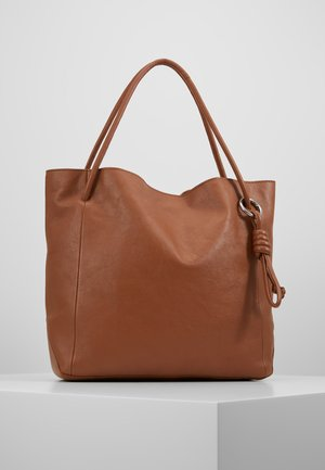 LEATHER - Håndveske - cognac